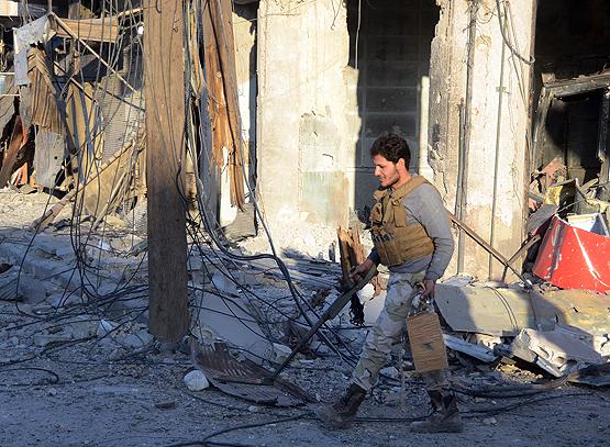 El Bab mayın ve tuzaklı bombalardan temizleniyor