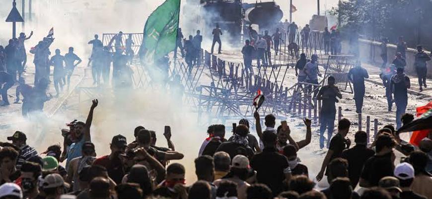 """""""Irak'ta yüzlerce göstericiyi İran destekli Şii milisler öldürdü"""""""