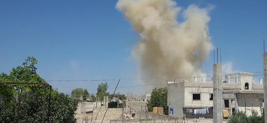 Rusya destekli Esed rejimi Halep'te sivilleri vurdu: 2 ölü