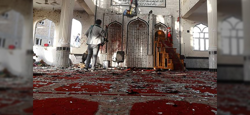 Afganistan'da camiye bombalı saldırı: 32 ölü 50 yaralı