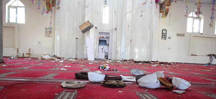 Afganistan'da cuma namazına bombalı saldırıda ölü sayısı 63 oldu