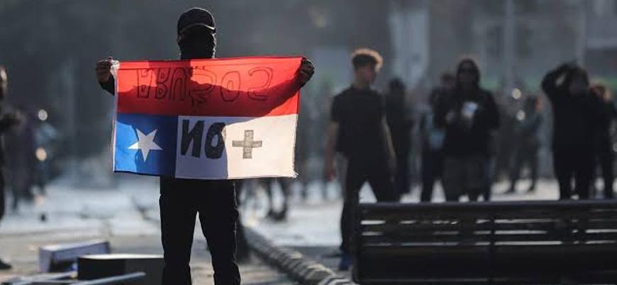 Şili'de gösterilerde bilanço ağırlaşıyor: 8 ölü