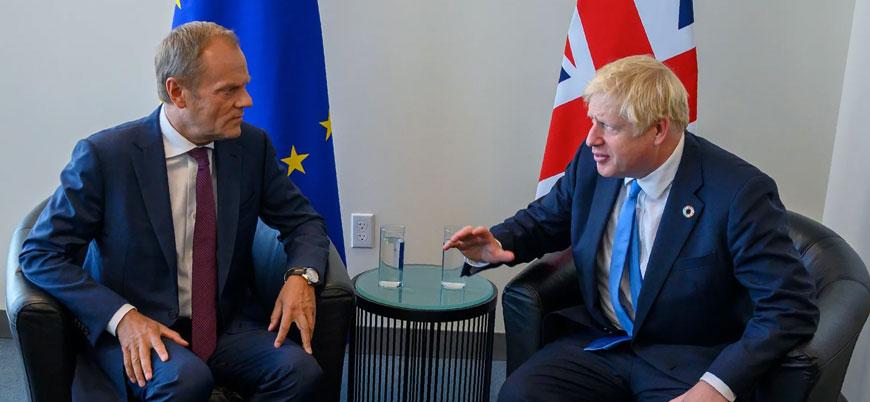 İngiltere Başbakanı Johnson Brexit için AB'den erteleme istedi