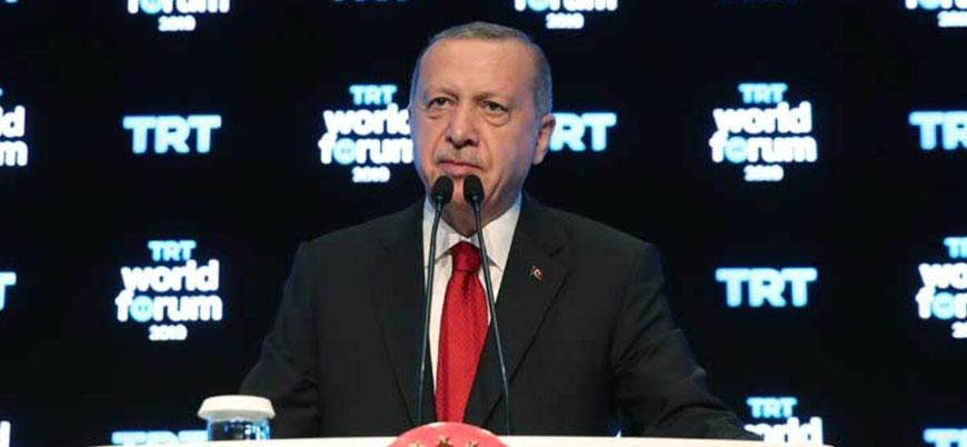 Erdoğan: Batı teröristlerin yanında yer aldı
