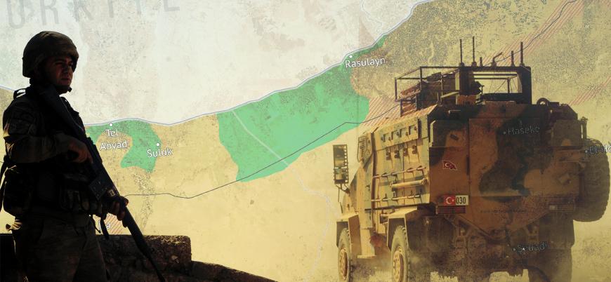 Harita | Barış Pınarı Harekatı'nda son durum - 21 Ekim