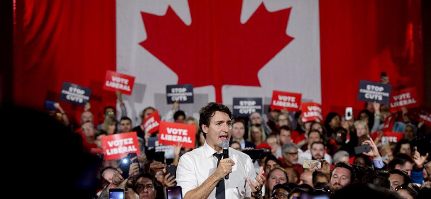 Kanada'da seçimleri iktidardaki Trudeau kazandı