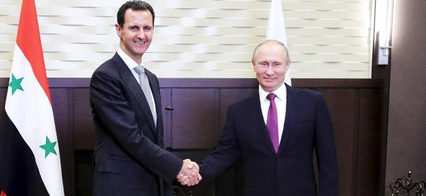 Esed Türkiye - Rusya anlaşmasından memnun: Putin'e teşekkür etti