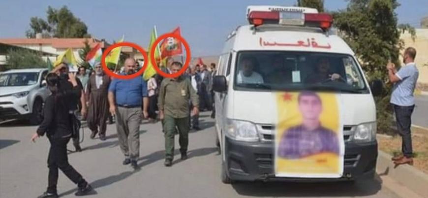 Kerkük'te PKK'lılar gösteri düzenledi