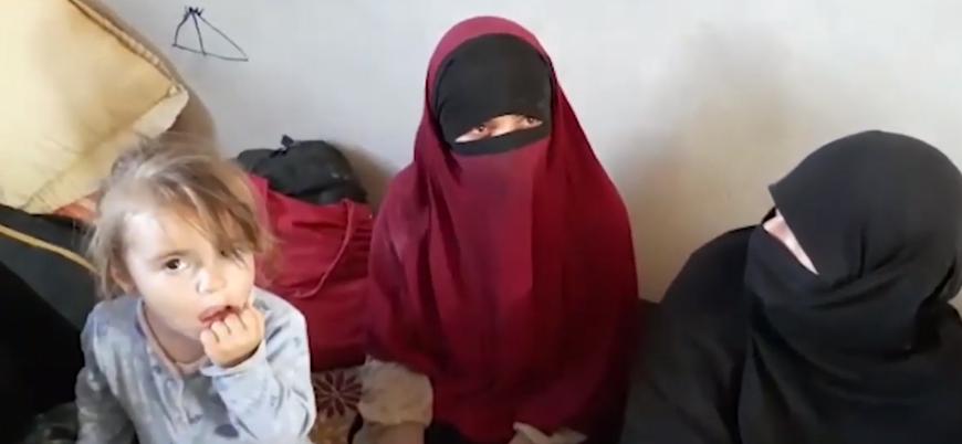 Suriye'de IŞİD'lilerin ailelerinden ikisi Türk vatandaşı 13 kadın ve çocuk yakalandı