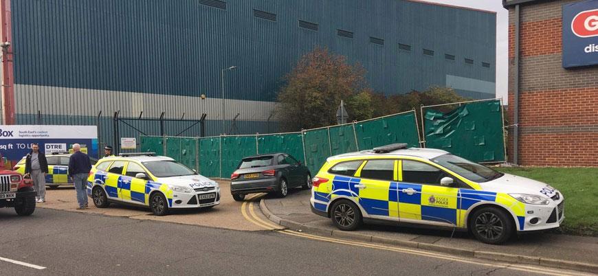 İngiltere'de bir konteyner içinde 39 ceset bulundu