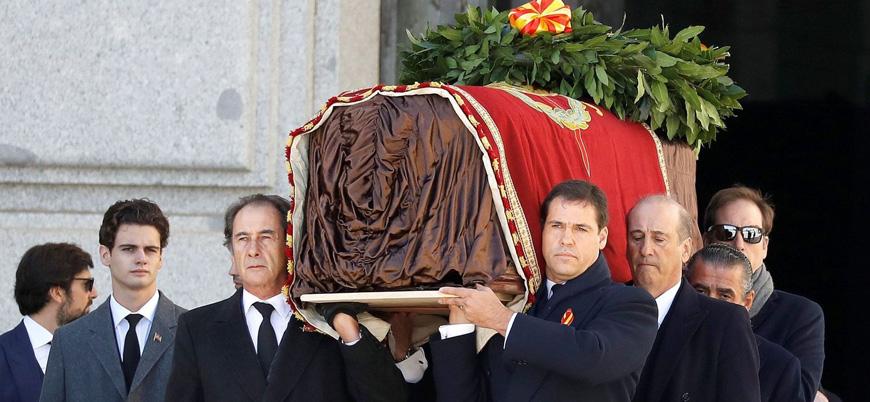 Diktatör Franco'dan geriye kalanlar anıt mezardan taşınıyor