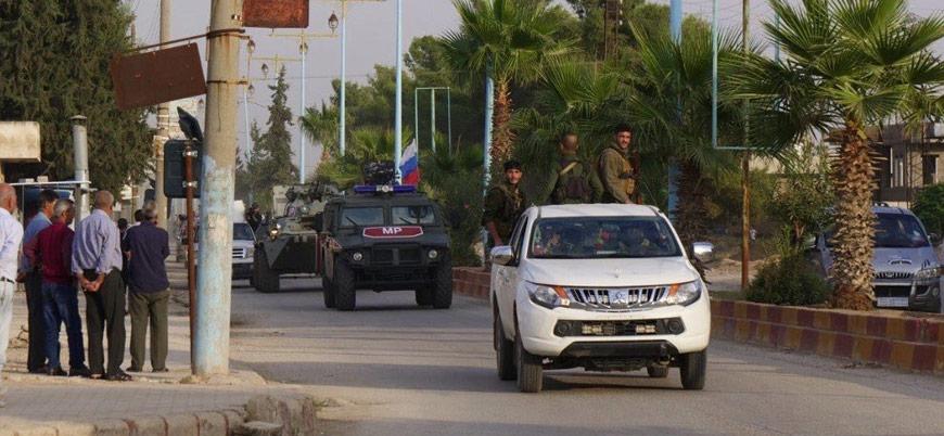 YPG Kamışlı'da Rus güçlerine eskortluk etti