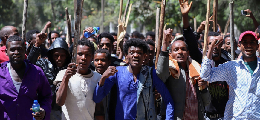 Etiyopya'daki sokak gösterilerinde 67 kişi öldü
