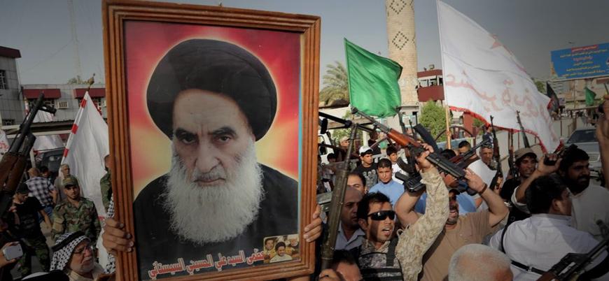 ABD'nin Irak işgaline fetva veren Şii Lider Sistani: Gösteriler kaosa sürüklenebilir