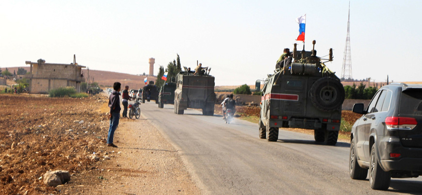 Rusya'dan Suriye'ye zırhlı araç sevkiyatı