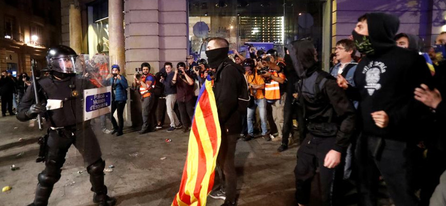 İspanya'daki protestolarda sular durulmuyor