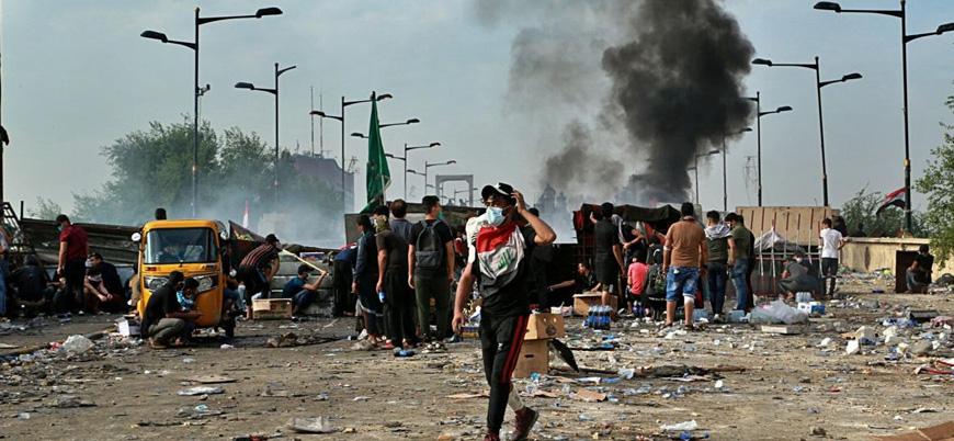 Irak'taki protestolarda 2 günde 63 kişi öldü