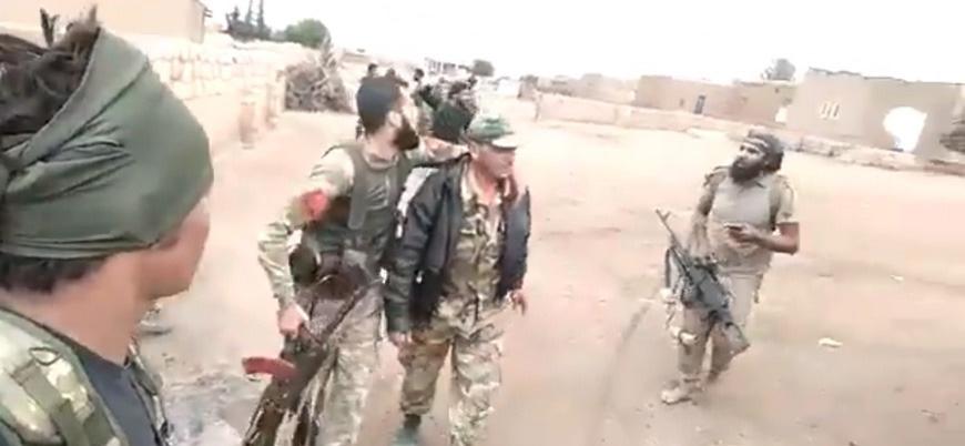 Türkiye destekli Suriyeli muhalifler Esed rejimi askerlerini esir aldı