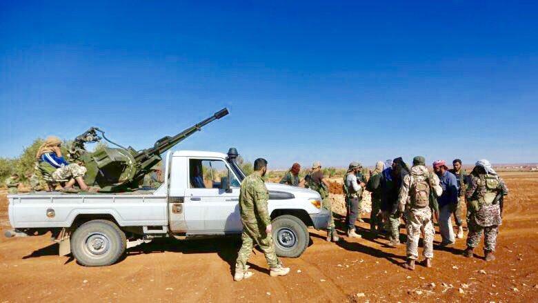 Fırat Kalkanı güçleri Tadif'te 22 rejim askerini öldürdü