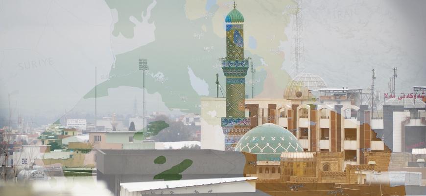 Irak'ta etnik ve dini yapı haritası