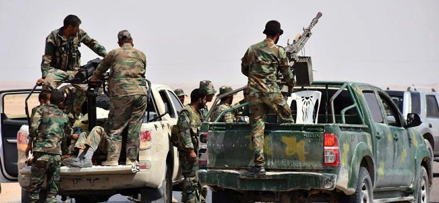 """""""Esed güçleri ile Suriye Milli Ordusu arasında çatışma yaşandı"""""""