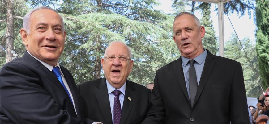 İsrail'de koalisyon düğümü çözülmüyor: Gantz'dan Netanyahu'ya suçlama