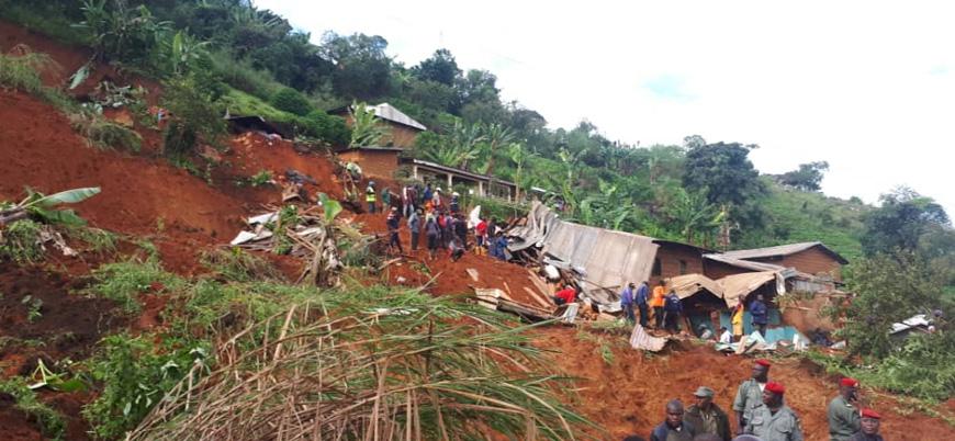 Kamerun'da heyelan: 26'sı çocuk 42 kişi öldü