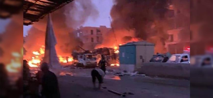 Afrin'de bombalı saldırı: Onlarca ölü ve yaralı