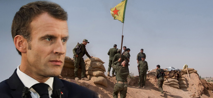 Türkiye'yi kınayan Fransa'dan YPG'ye 'sarsılmaz' destek