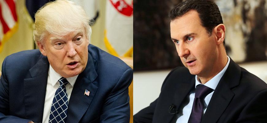 Beşar Esed'den kendisine 'hayvan' diyen Trump'a: ABD tarihinin en iyi başkanı