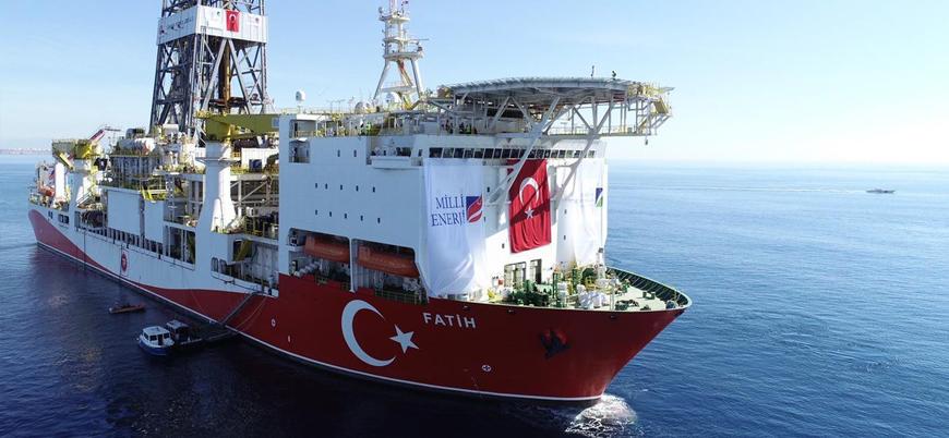 Doğu Akdeniz'de sondaj çalışmaları yürüten 'Fatih' Türkiye'ye dönüyor
