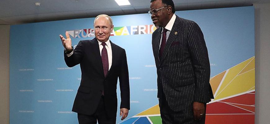 Rusya Afrika'ya geri döndü