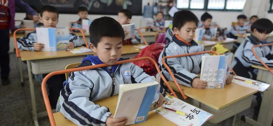 Çin'de bir ilkokul öğrencilere beyin dalgalarını ölçen cihaz taktı