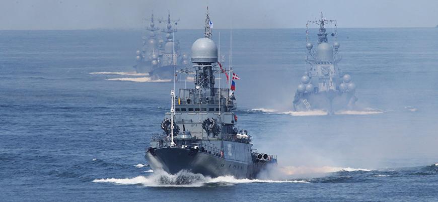Rusya'dan Akdeniz'de 'savaşa hazırlık' tatbikatı