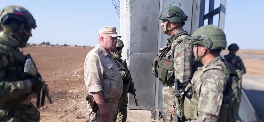 Milli Savunma Bakanlığı: Rusya ile ikinci ortak devriye Ayn el Arap'ta başladı