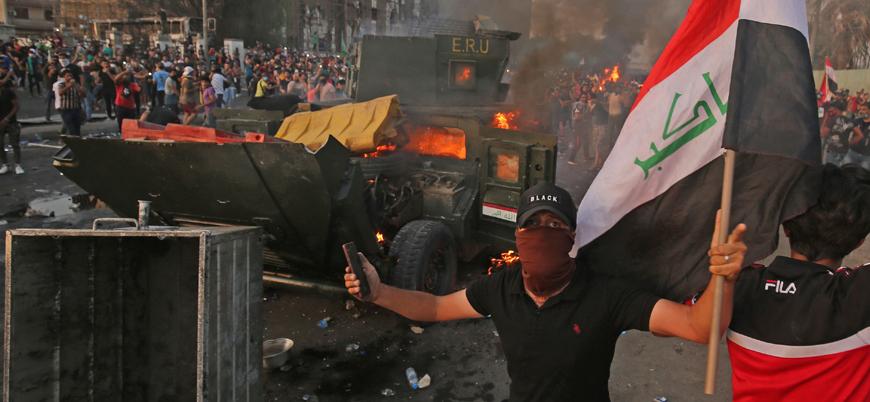 Irak protestolarında bugüne kadar kaç kişi öldü?