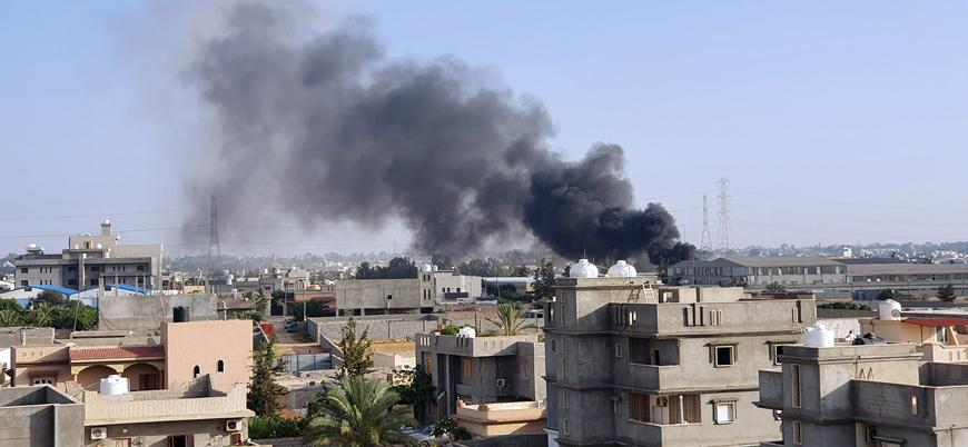 Hafter güçleri Trablus'ta sivilleri bombaladı