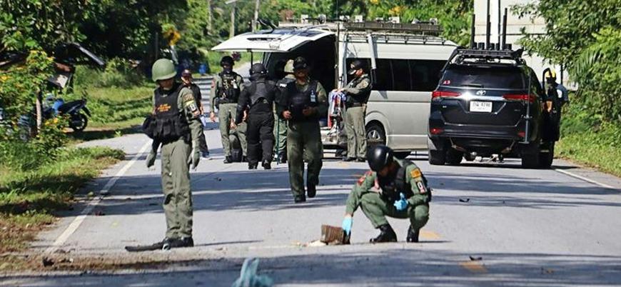 Tayland'ın güneyindeki Müslüman eyalette askerlere bombalı saldırı: 15 ölü