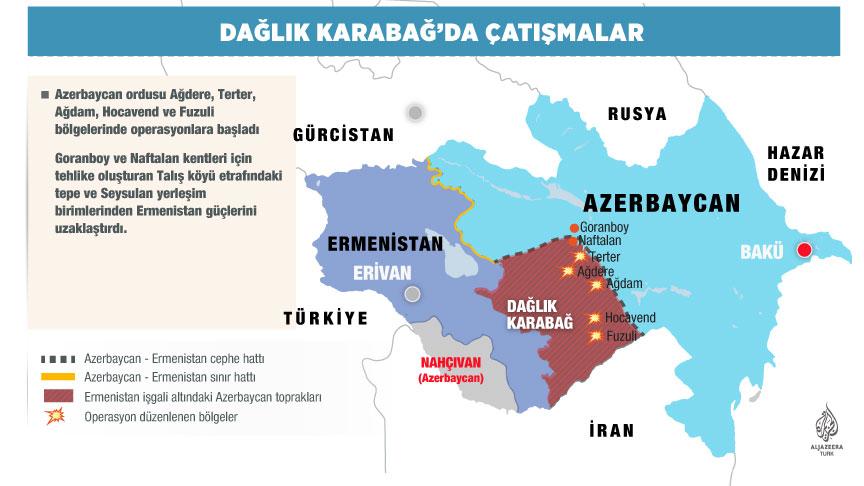 BM: Azerbaycan ve Ermenistan ateşkese uymalı