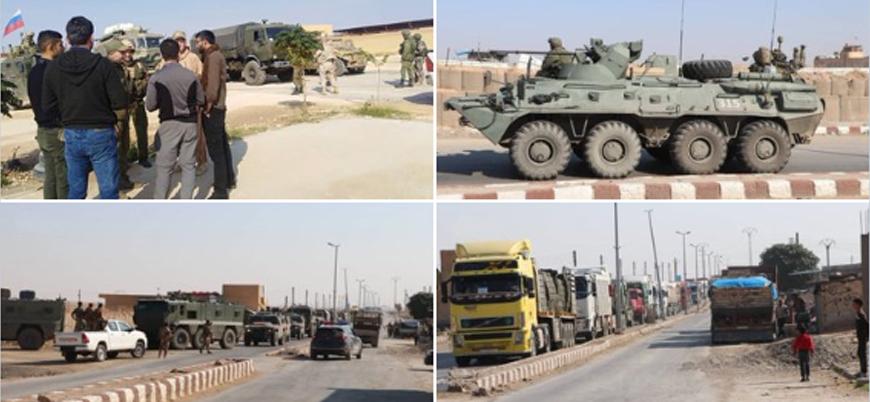 Rusya'dan YPG'ye 40 araçlık askeri yardım