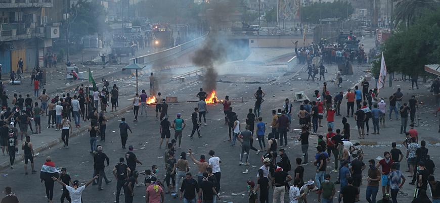Irak'ta protestolarında son 24 saatte 13 ölü