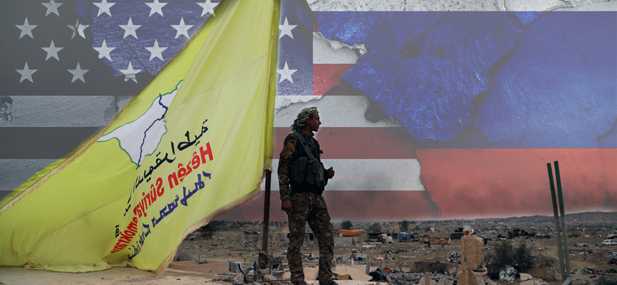 Rusya'nın desteğini alan YPG: ABD ile de çalışmayı sürdüreceğiz