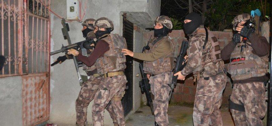 Adana'da 'El Kaide ve IŞİD' operasyonu