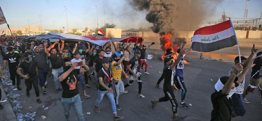 Irak'ta güvenlik güçleri göstericilere ateş açtı: 4 ölü 35 yaralı