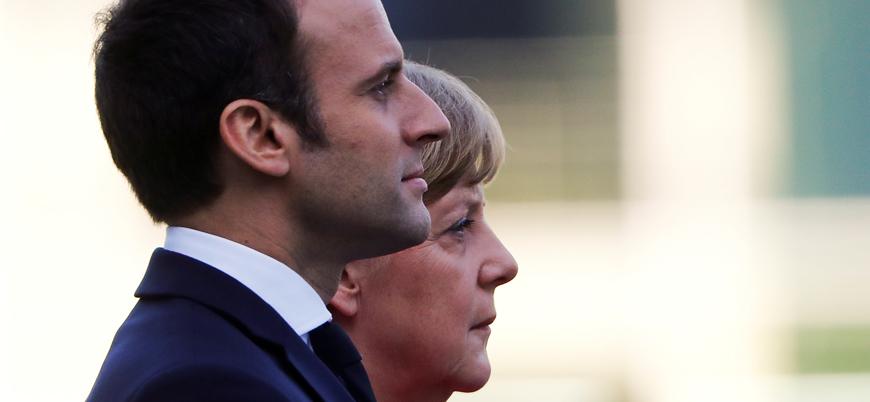 Merkel'den Macron'a 'NATO' tepkisi: 'Yersiz bir sözlü saldırı'