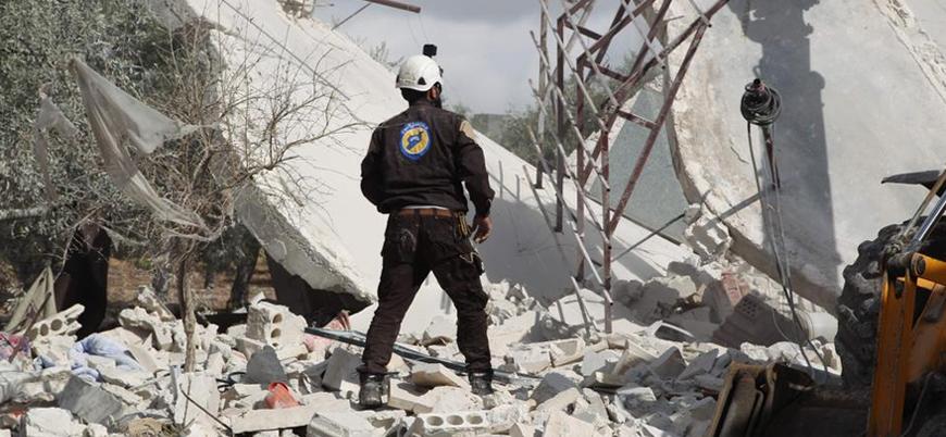 ABD İdlib'e düzenlenen hava saldırılarını kınadı