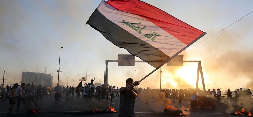 Bağdat hükümetinden göstericilere 'müebbet hapis cezası' tehdidi