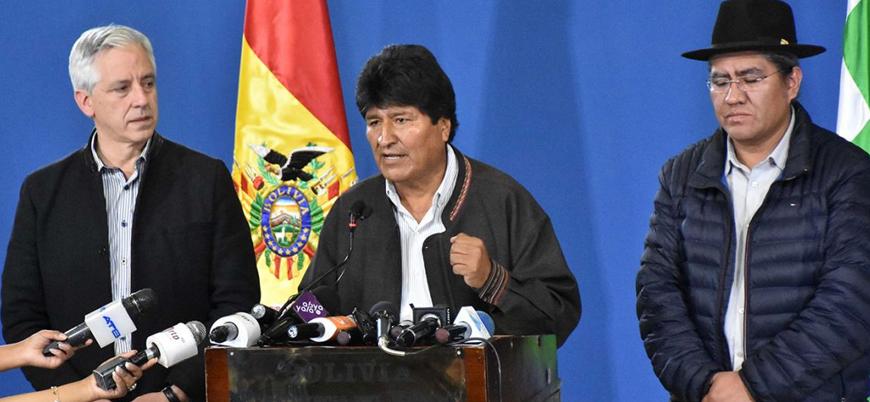 Darbe mi protestoların sonucu mu?:  Bolivya lideri Morales görevi bıraktı