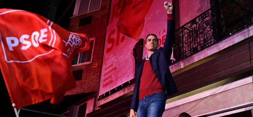 İspanya'da seçimleri Sosyalistler kazandı