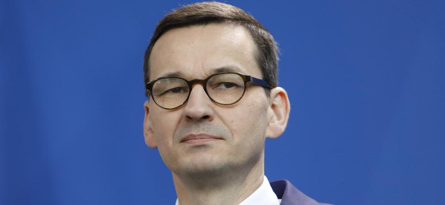 Polonya Başbakanı'ndan Macron'a: Rus ayısının sıcak nefesini ensesinde hissetmiyor